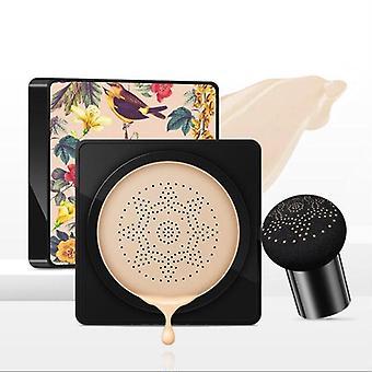 Neue Frauen Pilz BB Whitening Compact Foundation Concealer Verhindern Bask Hautpflege(natürliche Farbe)