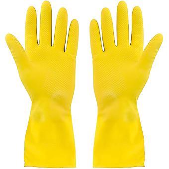 3 Paquet gants de nettoyage jaunes -petit