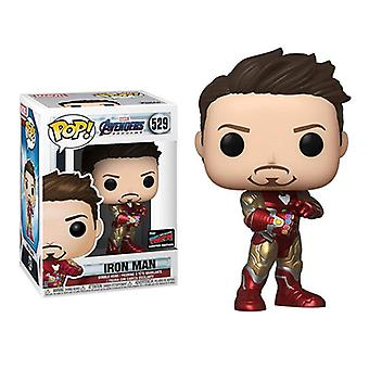Pop Avengers 4 Iron Man Tony Stark Infinite Gloves Doll Toy