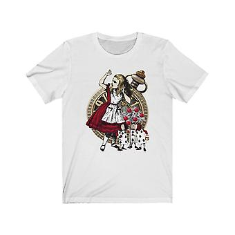Graphic tee - alice in wonderland gifts #31 red series | gift idea, gifts for women, t shirts for women, custom shirt, graphic tees for women, t-shirt