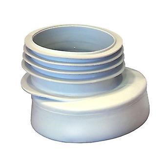 110mm toilette WC Offset Extension Pan déchets raccord en caoutchouc