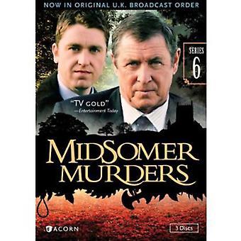 Midsomerin murhat: Sarja 6 [DVD] Yhdysvallat tuoda