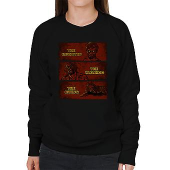 The Infected The Walking And The Biting Dead Women's Sweatshirt