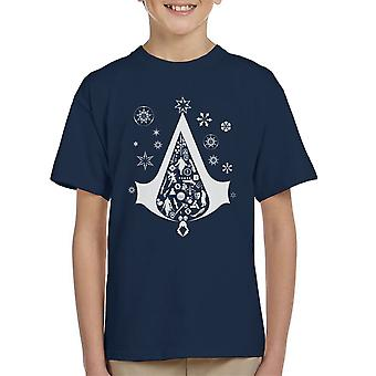 Christmas Tree Assassins Creed Kid's T-Shirt