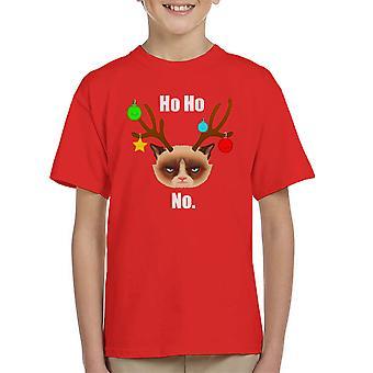 Ho Ho nem karácsonyi Cat fehér gyerek ' s póló