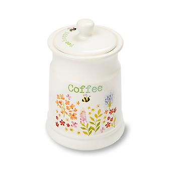 Cooksmart Bee Happy Ceramic Coffee Canister