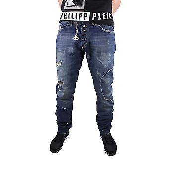 Philipp Plein Vulcano 8MY Military Blue Jeans
