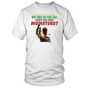 Monster Squad Who Do You Call Whn You Have Monsters Kids T Shirt