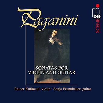 Paganini / Kubmaul, Rainer / Prunnbauer, Sonja - Sonatas for Violin for Violin & Guitar [Vinyl] USA import