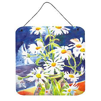 Carolines Treasures  6003DS66 Flowers - Daisy Aluminium Metal Wall or Door Hangi