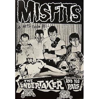 Misfits Undertaker Poster Poster Print