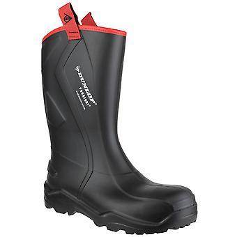 Dunlop Purofort Mens + ruige volledige Wellington Veiligheidslaarzen