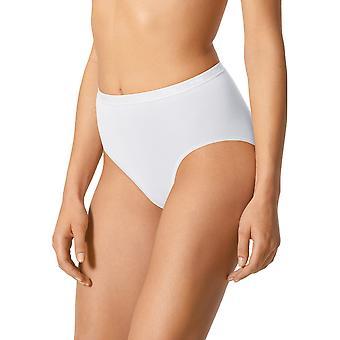 Mey 89604-1 Women's Best Of White Solid Colour Full Panty Highwaist Brief