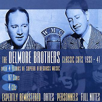Delmore Brothers - Classic Cuts 1933-41 [CD] USA import