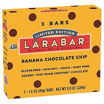 Larabar Banana Chocolate Chip fruta & porca comida de Bar