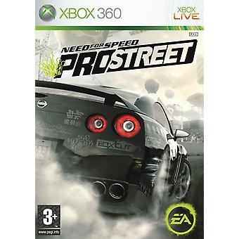 Need for Speed ProStreet (Xbox 360) - Uusi