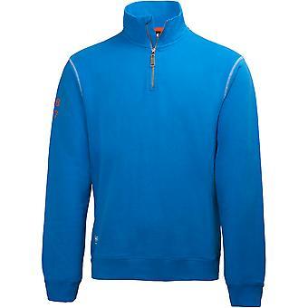 Helly Hansen menns Oxford varme halvparten Zip Workwear Genser genser
