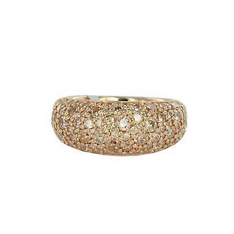 ESPRIT collection ladies ring silver Rosé cubic zirconia Delia ELRG92413C