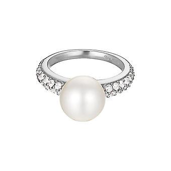 Ossido di zirconio ESPRIT donna anello argento perla sfera ESRG92300A1