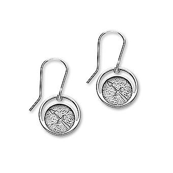 Sterling Silver Traditional Contemporary Astrology Zodiac Sign Design Pair of Earrings - E1843