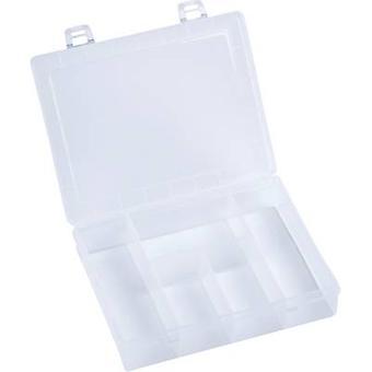 Hünersdorff Assortment box (L x W x H) 180 x 140 x 40 mm No. of compartments: 5 fixed compartments 1 pc(s)