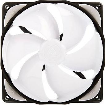 NoiseBlocker NB-eLoop B12-1 PC-Lüfter Weiß, Schwarz (B x H x T) 120 x 120 x 25 mm