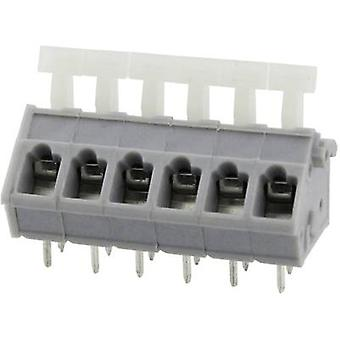 Degson DG243-5.0-05P-11-00AH Spring-loaded terminal 3.31 mm² Number of pins 5 Grey 1 pc(s)
