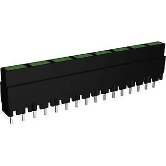 Signaalconstructie ZALS 082 LED lineaire array 8x Groen (L x W x H) 40,8 x 3,7 x 9 mm
