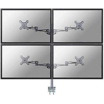 NewStar FPMA-D935D4 4x Monitortischhalterung 25,4 cm (10) - 68,6 cm (27) Kippbar, Schwenkbar, Schwenkbar