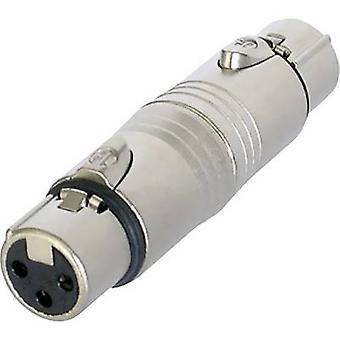Neutrik NA3FF XLR-adapter XLR-stik - XLR-stik 1 stk.