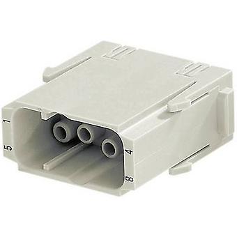 هارتينغ 09 14 008 3001 دبوس inset هان® C-Modul 8 + PE كريمب 1 جهاز كمبيوتر (ق)