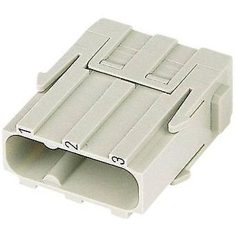 Harting 09 14 003 3002-1 Pin inserto Han® C-Modul 3 + PE Tornillos 1 ud(s)