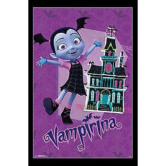 Vampirina - casa Poster Print