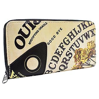Ouija Mystifying Oracle Board Style Coin All round Zip Purse