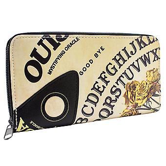 Ouija tajemnicze Oracle pokładzie stylu monet wszystkie rundy Zip portmonetka