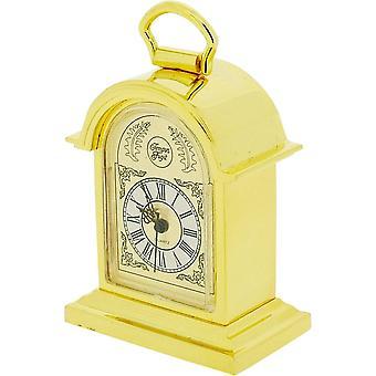 Cadeau producten Tompion beugel miniatuur prikklok - goud