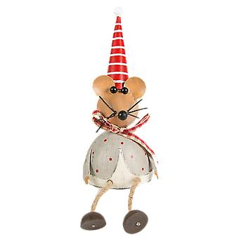 Sass ans Belle Sitting Mouse Decoration