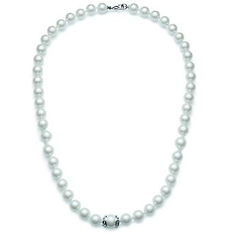Oliver Weber Collier Bright Pearl Rhodium Crystal