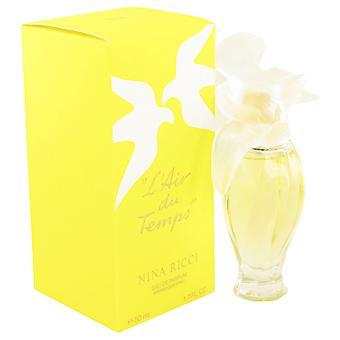 L'air Du Temps Perfume by Nina Ricci EDP W/Bird Cap 50ml