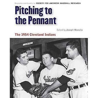 Lanzamiento para el banderín - los indios de Cleveland 1954 por José Wancho