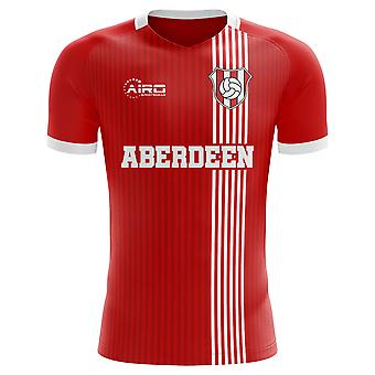 2020-2021 Aberdeen Home Concept Football Shirt - Adult Long Sleeve