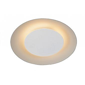 Lucide Foskal moderno metallo bianco soffitto luce rotonda
