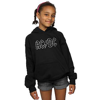 AC/DC dziewczyny postrzępione Logo Bluza z kapturem