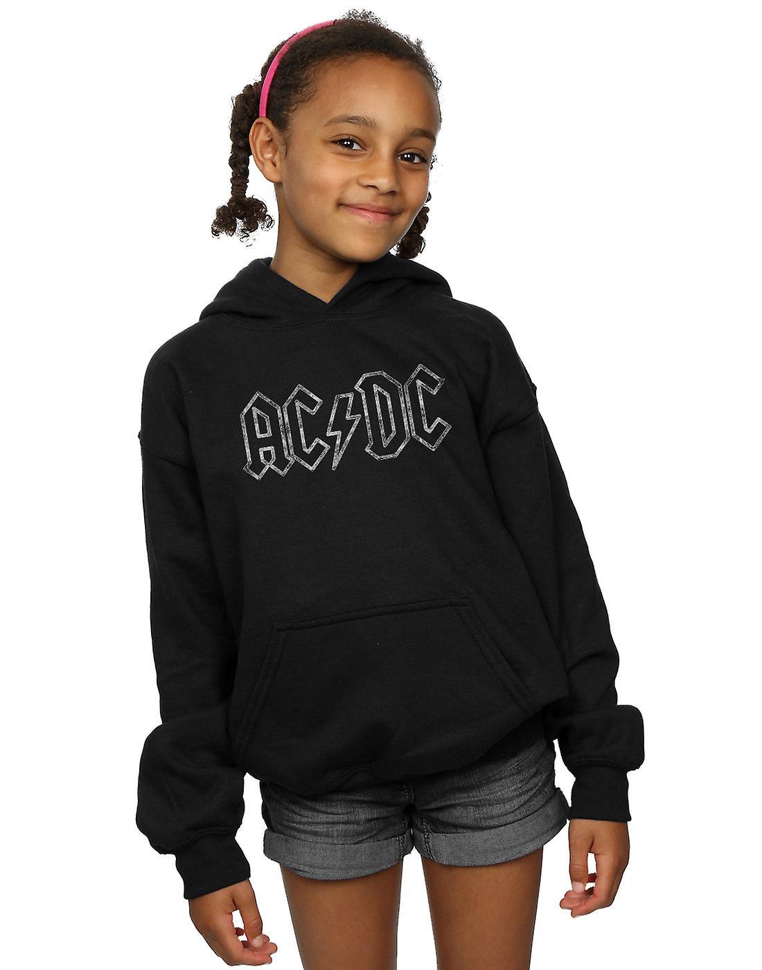 AC/DC Girls Jagged Logo Hoodie