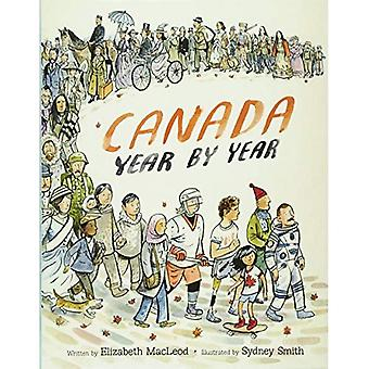 Canada per jaar