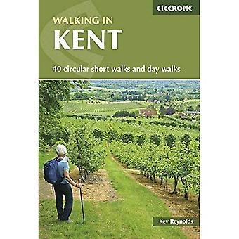 Promenader i Kent: 40 cirkulär korta promenader och dag promenader