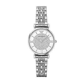 Emporio Armani ladies Quartz analogue watch with stainless steel band AR1925