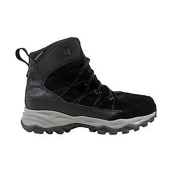 El norte cara Chilkat cuero impermeable negro/oscuro sombra gris CQ26ZU5 grado de la escuela