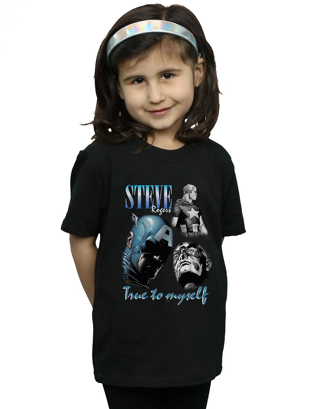 Marvel Girls Steve Rogers Homage T-Shirt