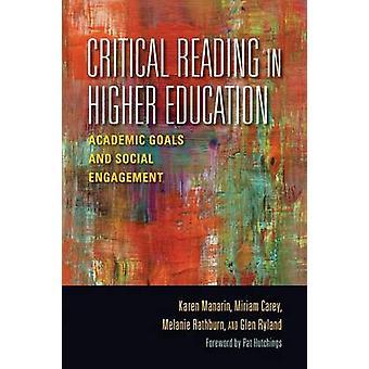 Kritisk læsning i videregående akademiske mål og socialt Engagement af Manarin & Karen
